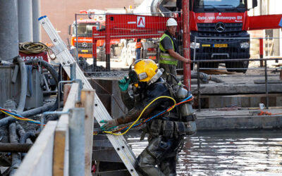 Installing underwater concrete with Qceas