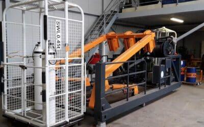 Refreshing the offshore equipment